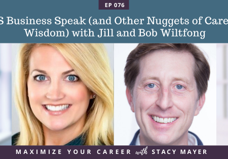 Blog art - BS Business Speak (and Other Nuggets of Career Wisdom) with Jill and Bob Wiltfong